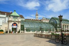 Schmetterling haus在维也纳 免版税库存图片