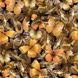 Schmetterling nahtloses 07a Lizenzfreie Stockfotografie