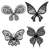 Schmetterlinge mit einem Muster Lizenzfreie Stockfotos