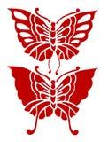 Schmetterlings-Gestaltungselement Lizenzfreie Stockbilder