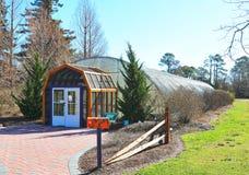Schmetterlings-Haus an den botanischen Gärten Norfolks Lizenzfreie Stockbilder