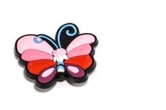 Schmetterlings-Kühlschrank-Magnet lizenzfreies stockbild