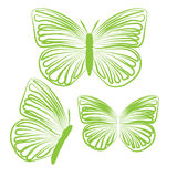 Schmetterlingsabdeckungsfliesengewebemusterhintergrundvektorillustrationsdesign Zusammenfassungstapete Stockfoto