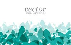 Schmetterlingsdesign auf weißem Hintergrund Lizenzfreies Stockfoto