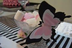 Schmetterlingseibische lizenzfreie stockbilder