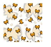 Schmetterlingsvektordesign für Hintergrund oder Muster Stockbilder