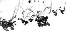 schmieröl Abstrakter Musterhintergrund mit schwarzer Tinte herein stock video