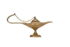 Schmieröl-Lampe Stockfoto