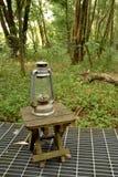 Schmieröl-Lampe Stockfotografie