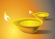 Schmieröl-Lampe Stockfotos