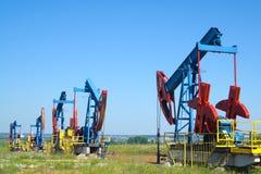 Schmieröl-Land Stockbild