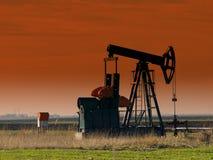 Öl-Pumpensteckfassung, Sonnenuntergang