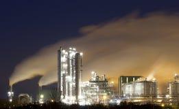 Schmieröl-Raffinerie Anlage Stockbilder