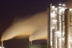 Schmieröl-Raffinerie Anlage stockfoto