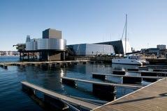 Schmieröl-u. Treibstoff-Museum Stavanger Stockbild