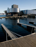 Schmieröl-u. Treibstoff-Museum Stavanger Stockbilder