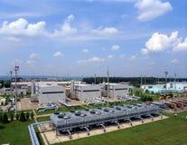 Schmieröl-und Erdgas-Industrie Stockfoto
