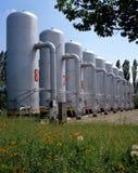 Schmieröl-und Erdgas-Industrie Lizenzfreie Stockfotos