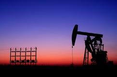 Schmieröl und Gas Stockbilder