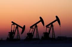 Schmieröl und Gas Lizenzfreies Stockfoto