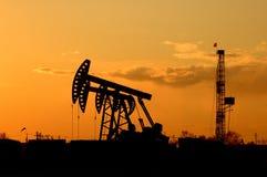 Schmieröl und Gas Lizenzfreie Stockfotos