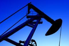 Schmieröl und Gas Stockfoto