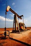 Schmieröl und Gas Stockfotografie