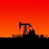 Schmieröl und Gas Lizenzfreies Stockbild