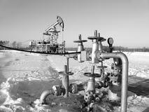 Schmieröl-und Gas-Industrie Lizenzfreie Stockfotos