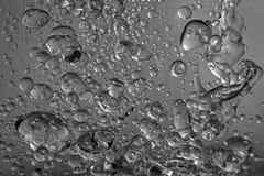 Schmieröl und Wasser Stockfoto