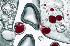 Schmieröl und Wasser Lizenzfreies Stockbild