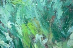 Schmierölfarben-Auszugshintergrund Stockbild