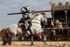 Schmierfilmbildung des neuen Films die Ritter stockfoto