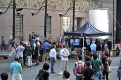 Schmierfilmbildung von Cobu 3D in Toronto Stockfoto