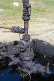 Schmierige Ölrohre lizenzfreie stockfotografie