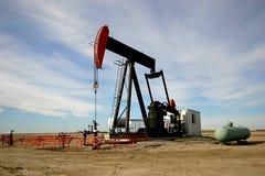 Schmieröl-Pumpe Jack Lizenzfreies Stockfoto