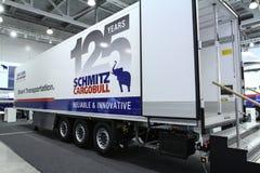 Schmitz cargobull S KO COOL kierownictwa Zdjęcia Royalty Free