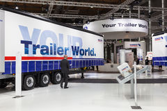 Schmitz Cargobull Trailers Royalty Free Stock Image