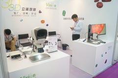 Schmuck und Jade, die Maschinerieausstellungsverkäufe verarbeiten Lizenzfreie Stockfotos
