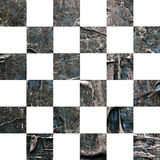 Schmutz Ñ  hess maserten abstraktes kariertes nahtloses Muster Lizenzfreies Stockfoto