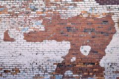 Schmutz brickwall Stockfotografie