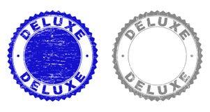 Schmutz-DELUXE verkratzte Stempel stock abbildung