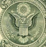 Schmutz-Dollar-Detail perfekt verwenden stockbild