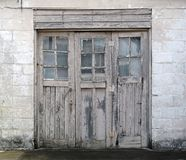 Schmutz-Eingang stockfotos