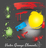 Schmutz-Element-Vektoren Stockfoto