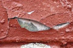 Schmutz-Hintergrund einer zerfallenen Wand Stockfotografie