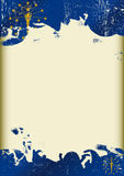 Schmutz-Indiana-Flagge Stockfoto