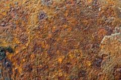 Schmutz-Metallrostiger Hintergrund Lizenzfreie Stockfotografie