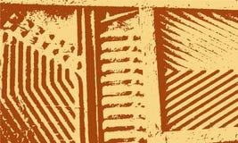 Schmutz-Retro- Streifen-Hintergrund Stockfoto