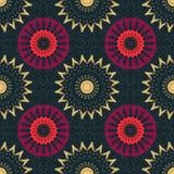 Schmutz Stammes-, gebürtig wie nahtloses Muster stock abbildung